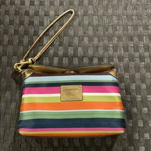 Limited edition coach legacy wristlet